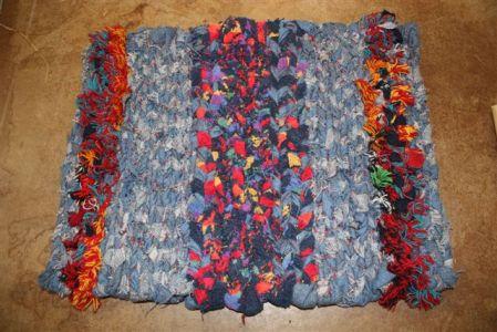 Twined rug