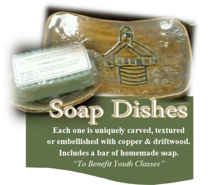 calumet art center Soap dishes