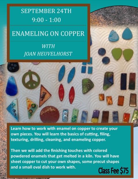Copper Enamel Poster Build