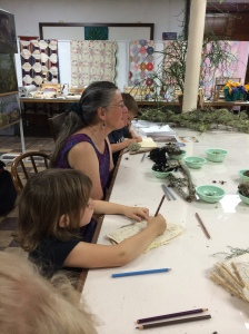 "Our ""Art of Nature"" class"