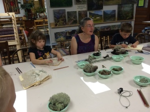 "Our ""Art of Nature"" Class."