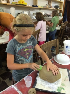 Summer Youth clay class 1
