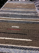 Xtra Long twined rug by VF