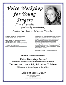 young voice workshop flyer 072414