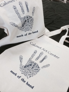 Calumet Art Center Tote Bags 2015