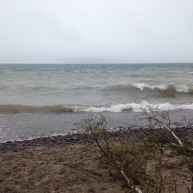 Windy Day Lake Superior