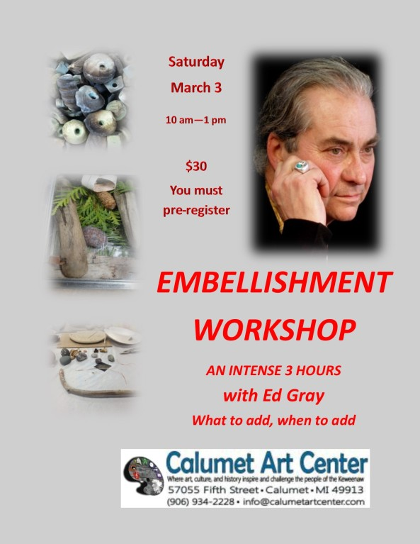 Embellishment Workshop 3-3