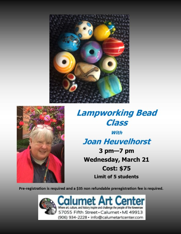 Glass Beads with Joan 3-21-18