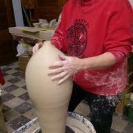 Lyn Reed hard at work