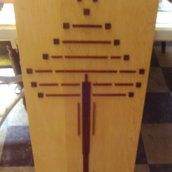 and wood work by her husband Wayne Walma - both amazing!