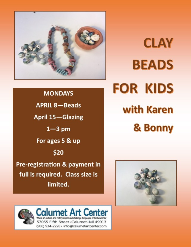 Clay Beads or Buttons