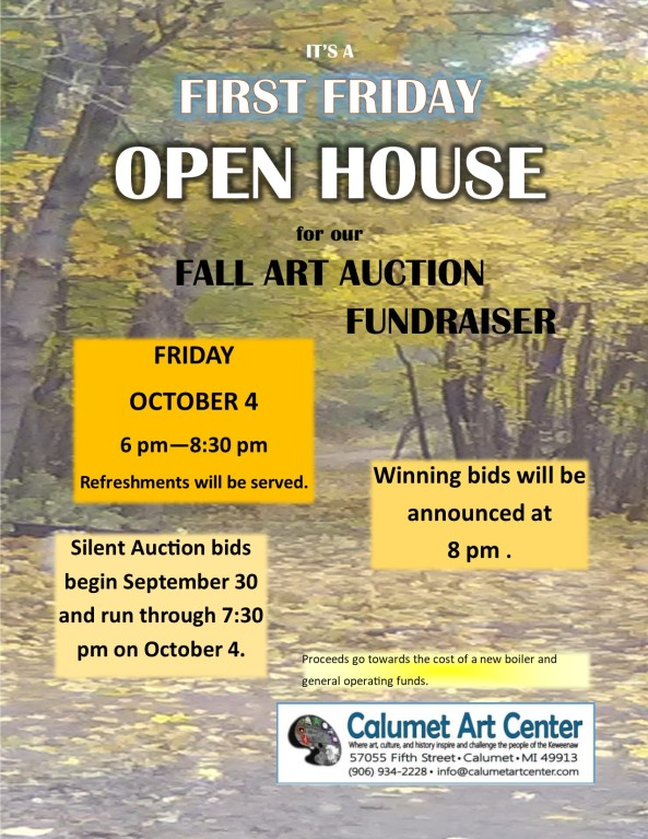 Art Auction Open House FF October